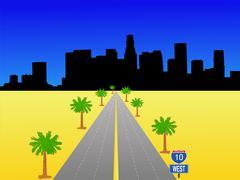 Los Angeles Interstate Piirros