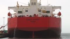 Crude Oil Tanker Eagle Sydney Stock Footage