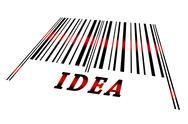 Idea on barcode Stock Illustration