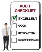 Audit checklist Stock Photos