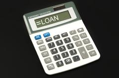 Loan word Stock Photos