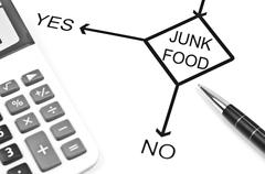 junk food - stock photo