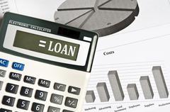 loan word - stock photo