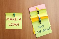 Make a loan Stock Photos
