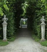 Stock Photo of formal garden