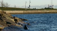 Castle Island South Boston Stock Footage