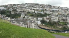 Ilfracombe, Devon, two - stock footage
