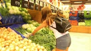 Stock Video Footage of market, vegetables