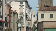 Venice off the beaten track Stock Footage
