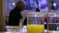 Stock Video Footage of breakfast with orange juice