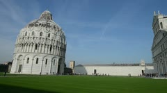 Pisa Miracles Square 01 Stock Footage