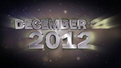 December21 2012 3 Stock Footage