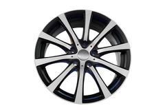 Car aluminum rim.jpg Stock Photos
