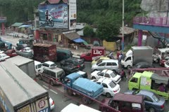 Philippines traffic Stock Footage