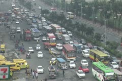 Philippines traffic jam Stock Footage