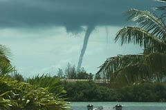 Waterspout Stock Footage