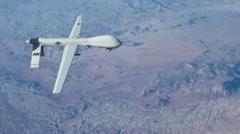Predator Drone - stock footage