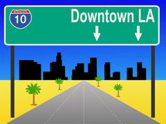 Los Angeles maantieajossa Piirros