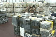 Coast Guard Cocaine Stock Footage