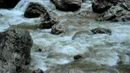 Fast mountain river Stock Footage