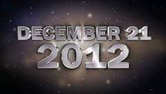 December21 2012 3 1280x720 Stock Footage