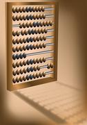 Retro abacus Stock Illustration