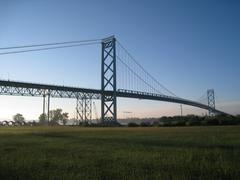 Ambassador Bridge Stock Photos