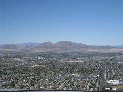 Las Vegas mountain range Stock Photos
