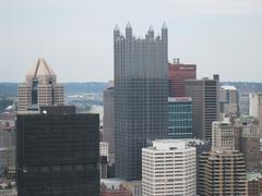 Pittsburgh Skyline 03 Stock Photos