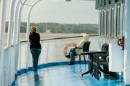 Stock Photo of onboard of river cruise ship