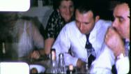 Stock Video Footage of MEN DRINKING BOOZE Intoxicated 1940s Vintage 8mm Film Home Movie 6132