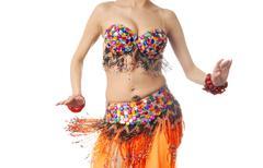 Dancing elegance Stock Photos