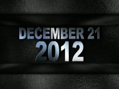 December 2012 text in wall silver 320x240 Stock Footage