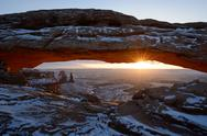 Stock Photo of mesa arch, canyonlands