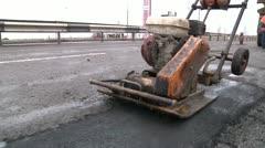 Road repair 7 Stock Footage