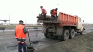 Stock Video Footage of road repair 2