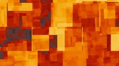 Orange Block Background - stock footage