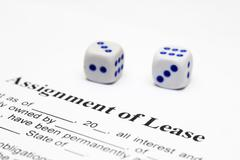 Assignment of lease Stock Photos