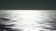 Calm sea, shining with the sunshine Stock Footage