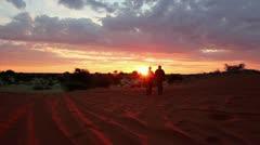 Kalahari sundown Stock Footage