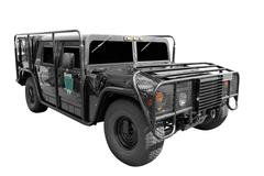 Special forces vehicle.jpg Stock Photos