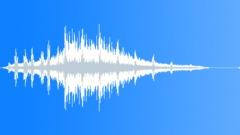 Short train passing - sound effect