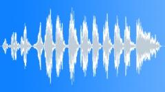 Cartoon Scramble Sound Effect