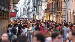 Crowd 04 Stock Footage