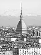 turin, italy - stock photo