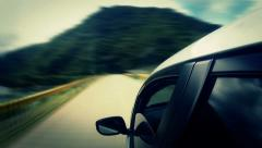 Countryside Car Trip 01 Stock Footage