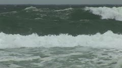 Dangerous Surf Rip Current Stock Footage