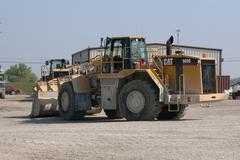 Bulldozer - Cat 988G Stock Photos