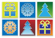 Stock Illustration of christmas icons