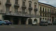 Havana, Cinema Payret, oldtimers Stock Footage